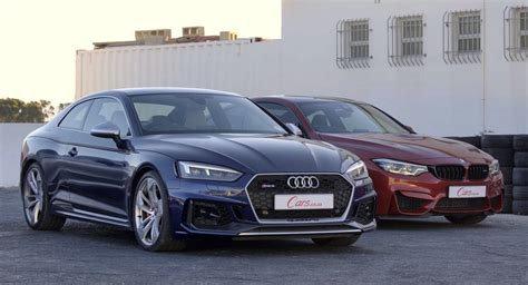Audi Rs5 Coupe Vs. Bmw M4 Competition Pack Drag Race Ends