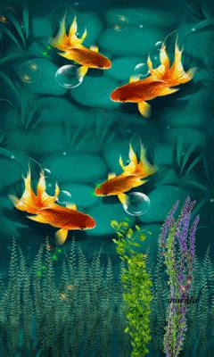 Animated Fish Aquarium Wallpaper Mobile - free animated underwater mobile wallpaper by maryla75 on