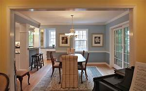 Windowless kitchen traditional dining room dc metro