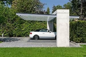 Moderne Carports Mit Glasdach : carport modern garage stuttgart von architekturb ro silke anna linnemann ~ Markanthonyermac.com Haus und Dekorationen