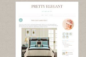 blogger template clean  classy themes creative market