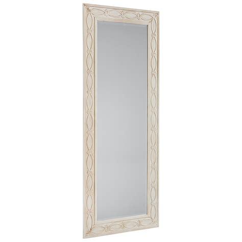 zinc floor mirror magnolia home by joanna gaines accent elements antique white zinc floor mirror olinde s