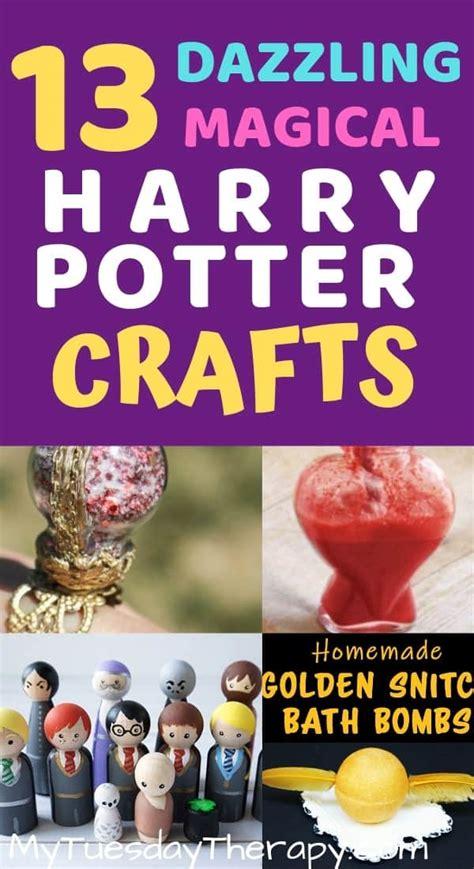 harry potter crafts  activities  muggle