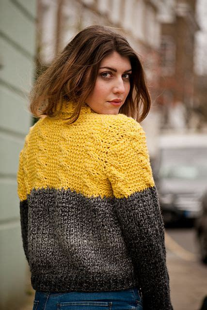 ravelry tunisian cable  rib sweater pattern  lindy