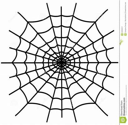 Spiderweb Spider Drawing Clipart Clip Coloring Line