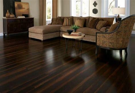 dark brown laminate flooring  living room  smoth finishing crossfit bwater vinyl wood