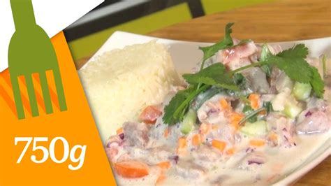 750 grammes cuisine recette de poisson cru à la polynésienne 750 grammes