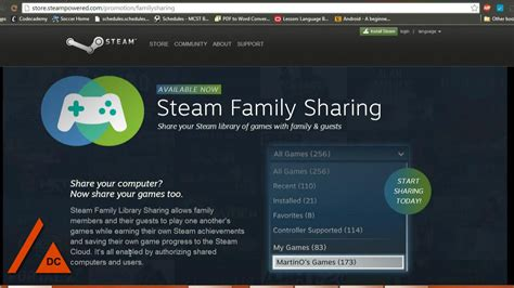 How To  Setup Steam Family Share (play Friends' Steam