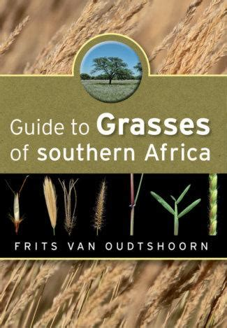 guide  grasses  southern africa namibia book market