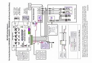 How Do I Get A Winding Wiring Diagram Or Schematic For A Honda Em50000sx Generator  Frame Serial