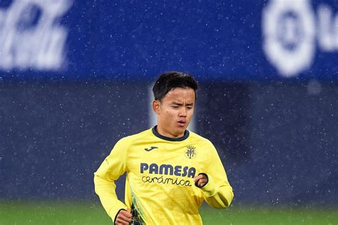 Takefusa Kubo to leave Villarreal for Getafe - Villarreal USA