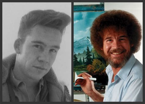 Bob Ross Before The Perm