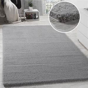 Shaggy Teppich Grau Silber : shaggy teppich micro polyester grau hochflor teppiche ~ Bigdaddyawards.com Haus und Dekorationen