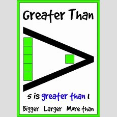 Greater Than, Less Than & Equal To Classroom Display Posters (3 Posters) By Bradashley
