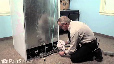 refrigerator repair replacing  triple solenoid water