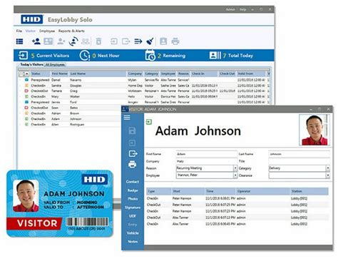 hid global launches easylobby solo visitor management system