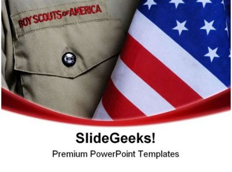 bsa uniform americana powerpoint templates  powerpoint