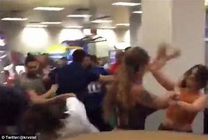 Major brawl erupts between adults at a child's birthday ...