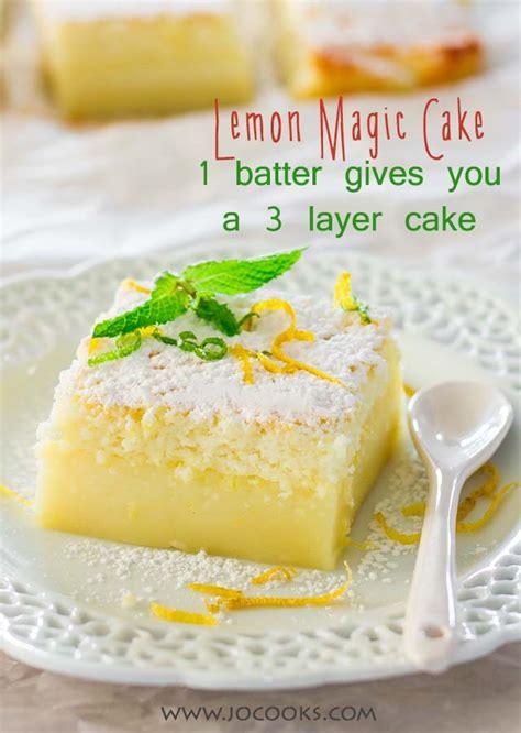 lemon food cake dessert lemon magic cake