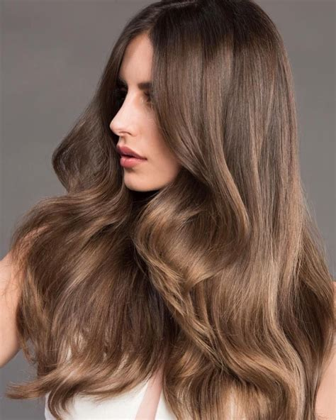 alluring dark  light golden brown hair color ideas