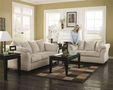 darcy sofa and loveseat darcy stone chaise sectional from ashley 7500018