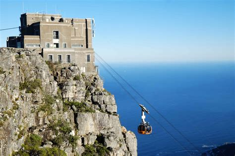 table mountain cable car table mountain aerial cableway cape town tourism