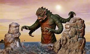 """""""Perseus challenges the Kraken!"""" From Clash of the Titans ..."""
