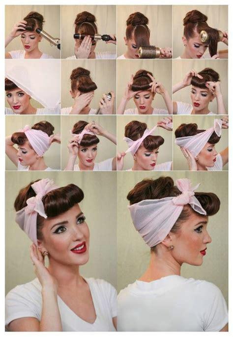 bandana binden kurze haare 1001 inspirierende ideen f 252 r coole bandana frisuren