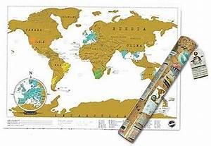 World Scratch Map® - Travel Edition | Stanfords