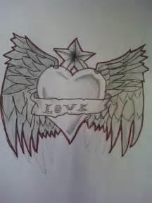 Graffiti Love Heart Drawings