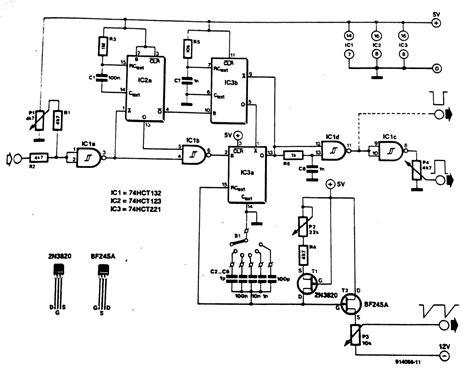 generator circuit diagram wiring diagram schemes