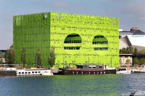 siege social orange cube vert confluence le siège social euronews