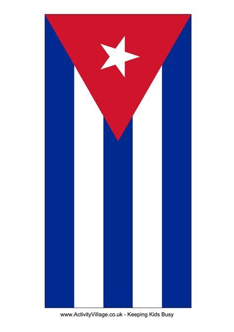 cuba flag templates  allbusinesstemplatescom