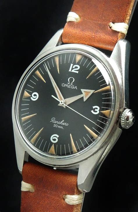 omega ranchero vintage black dial vintage portfolio