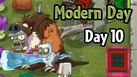 plants vs zombies 2 modern day day 10 modern future