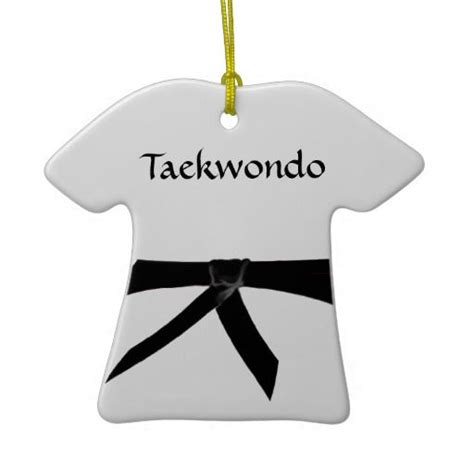 tae qan do christmas ornaments ornaments taekwondo and decoration on