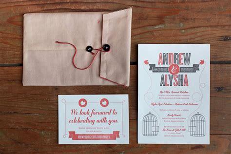 a showcase of creative wedding invitations