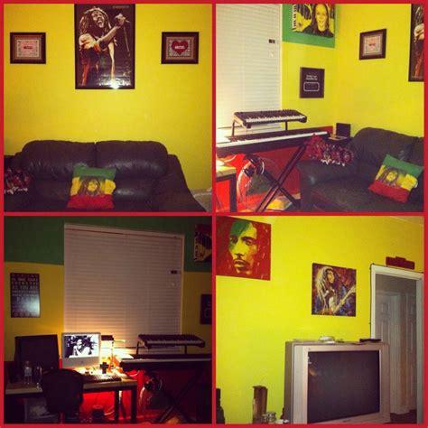 rastabob marley themed room room painting ideas