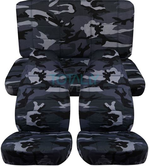 blue camo jeep jeep wrangler yj tj jk 1987 2017 camo seat covers front
