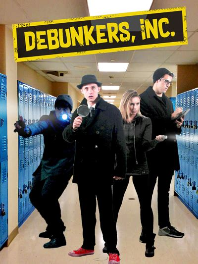 debunkers  film review sci fi  page