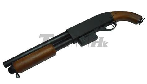 sawn  pump action shotgun   days character