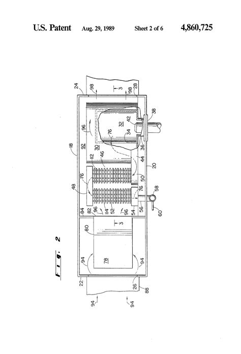 Patent Power Burner Fluid Condensing Mode