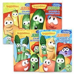 daywind veggietales jumbo coloring activity book children