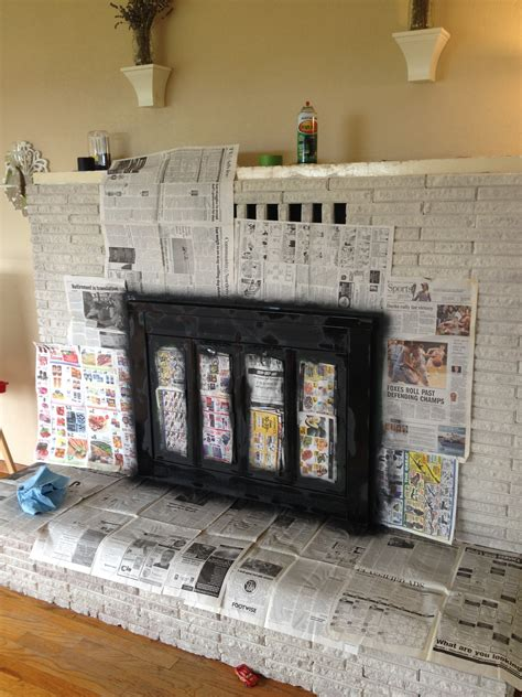 Painting Fireplace Doors by Paint Fireplace Screen Xk42 Roccommunity