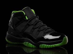 Air Jordan XI QuotBlackNeon Greenquot Collection