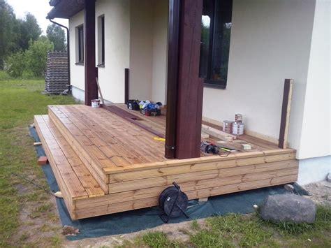 Ceļš uz ģimenes māju: Terases būvniecība