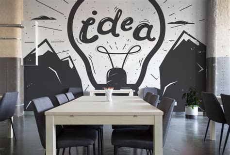 great office  corporate wall mural  wallpaper