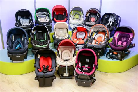 Different Types Of Newborn Carseats