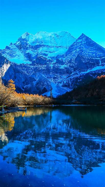 Iphone Nature Wallpapers Mobile Mountain Backgrounds Landscape