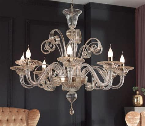 modern dining room chandeliers combined with glass